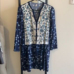 Anthropologie TINY embroidered dress